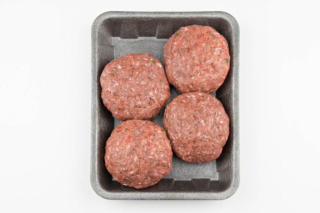 Βουβαλίσιο burger, 100% βουβαλίσιο κρέας